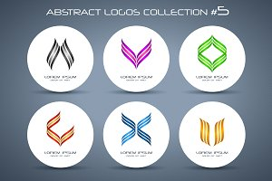 Abstract logos collection #5