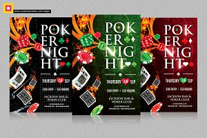 Poker Night Flyer V1