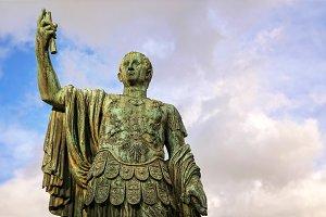 Statue of Julius Caesar, Roman Forum