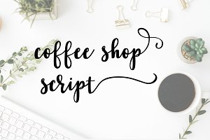Coffee Shop Script Font