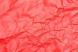 Coral saturated abstract paper backg