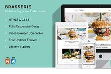 Brasserie - HTML5 Foodie Template