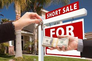 Handing Cash For Keys, Short Sale