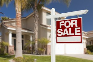 Home For Sale Sign at House
