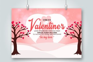 Valentine's Day Special Psd Flyer