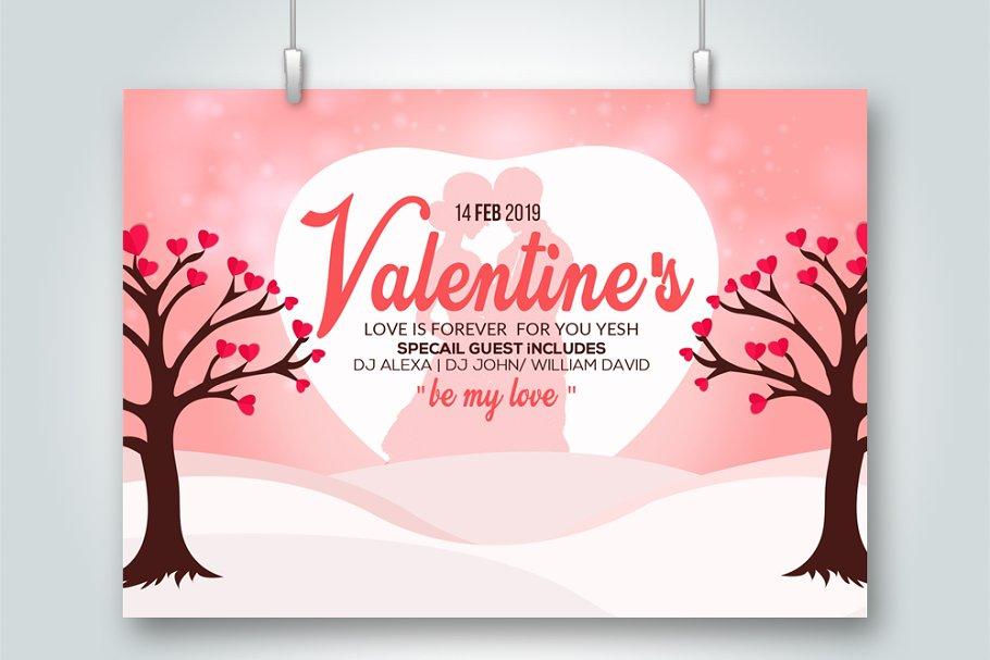 Valentine's Day Special Psd Flyer