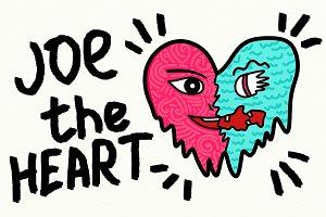 Joe The Heart / Illustration