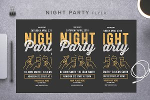 From Night Party Flyer
