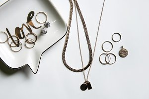 Jewerly Flat Lay