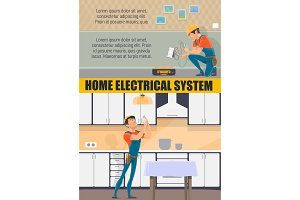 Electrician, electricity service