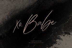 xo Babe Stylish Script Font