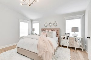 White Bedroom and Decor