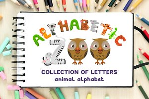 Alphabetic ZOO - animal alphabet