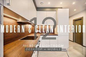 12 Modern Interior Presets + Mobile