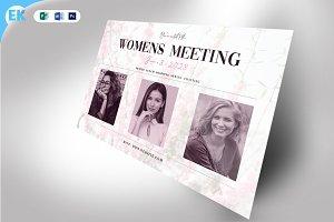 Womens Meeting Invitation