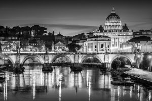 Saint Peters Basilica and Vatican Ci