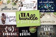 Tea Bundle - A Varie-Tea Font Pack!