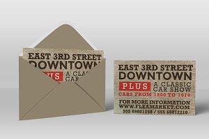 Flea Market PostCard