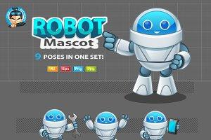 Robot Mascot 2