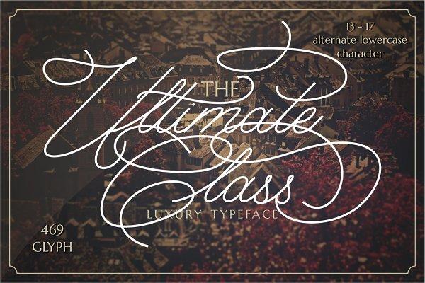 Script Fonts: PutraCetol Studio - The Ultimate Class Script