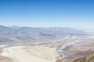 View of Death Valley Panorama