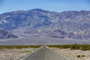 Road in Death Valley NP