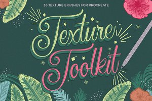 Texture Toolkit for Procreate