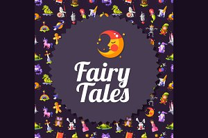 Fairy Tales Cards & Invitations Set