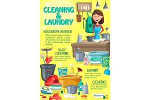 Home cleaning and laundry