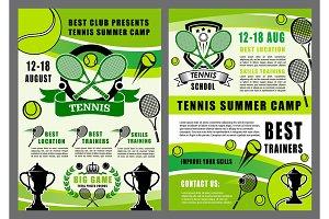 Tennis sport school, camp