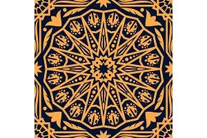 Arabic pattern, oriental carpet