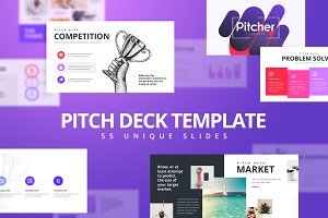 PitchDeck Modern Keynote Template