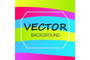 Abstract colored Background with