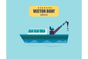 Ship at sea transport, shipping