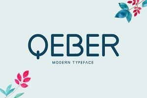Qeber Typeface
