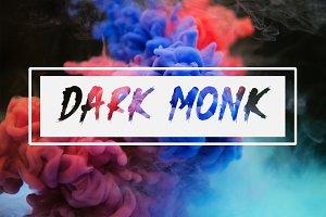 Dark Monk - Brush Font