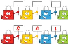 Shopping Bags Collection - 4