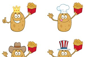 Potato Character Collection - 2