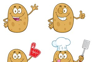 Potato Character Collection - 1