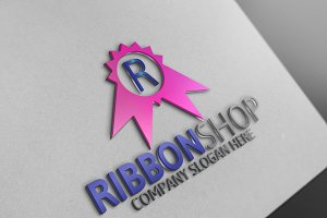 Ribbon Shop / Letter R Logo