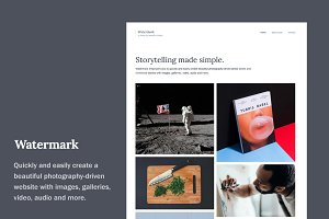 Watermark WordPress Theme