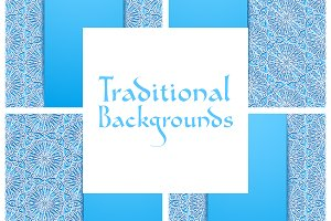 Traditional Floral Backgrounds