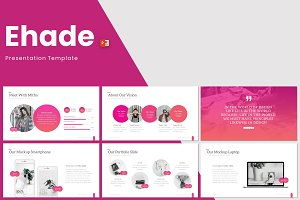Ehade - Powerpoint Template