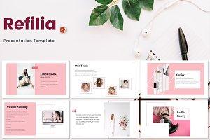 Refilia - Powerpoint Template