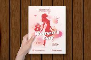 Women's Day Flyer -V06