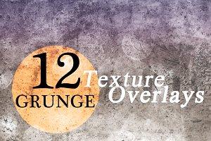 Grunge Texture Overlays