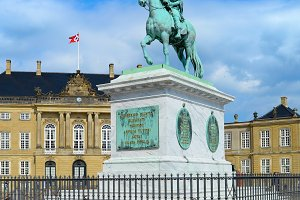 Equestrian statue of Frederik