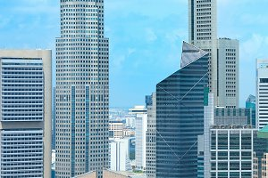 Singapore business financial downtow