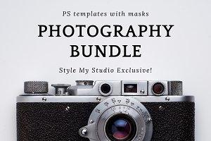 Photography Bundle - 60 Templates