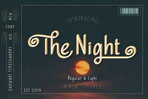 The Night Typeface